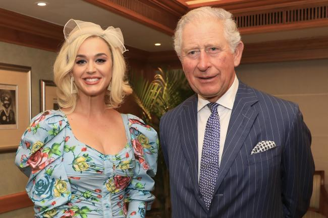 Prince of Wales and Katy Perry