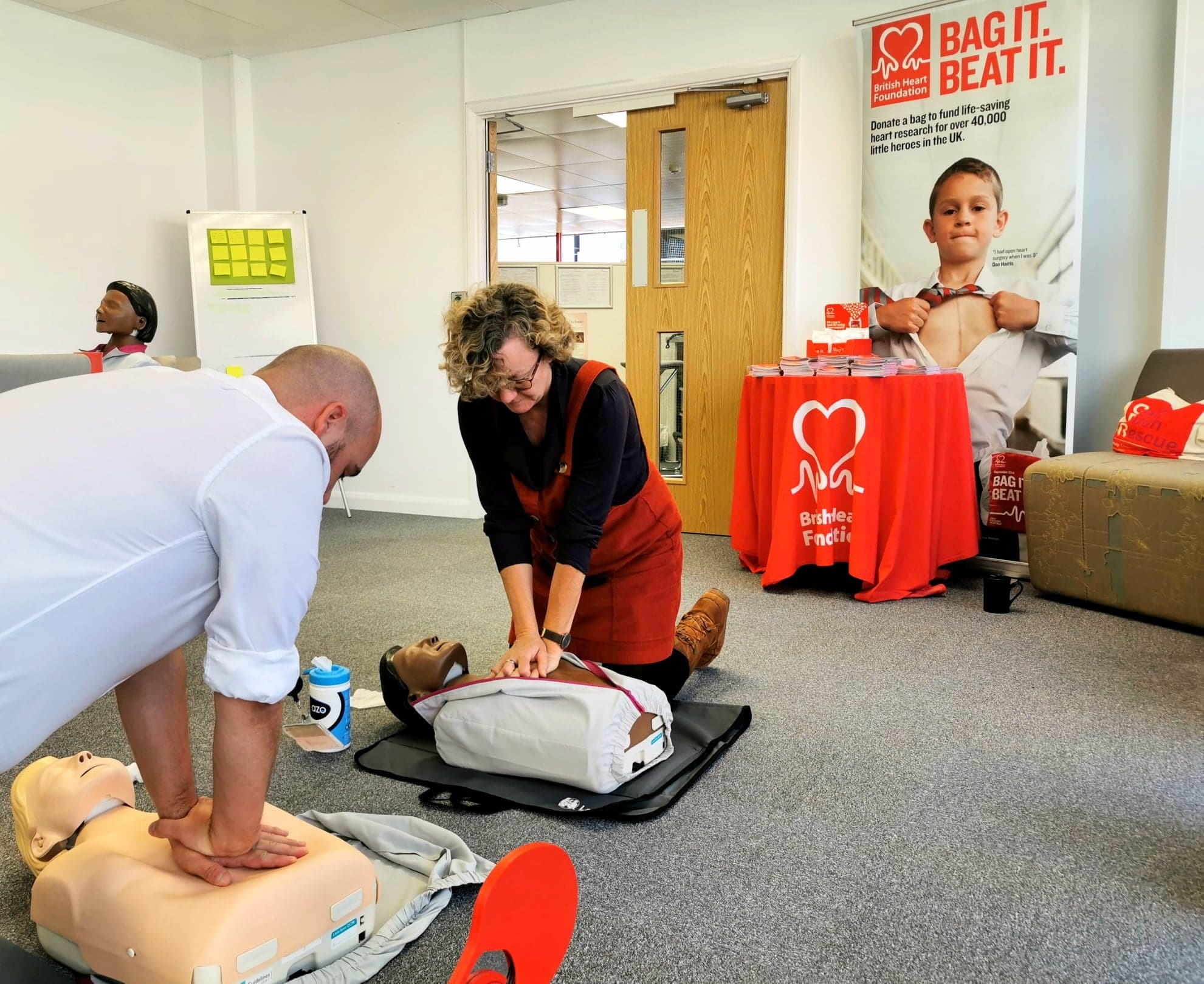 Wrexham company to continue delivering free CPR training sessions