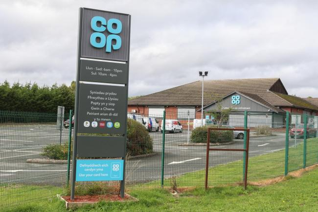 Co-Op Johnstown, which was targeted by shoplifter Cassie Evans on several occasions in a six month period.