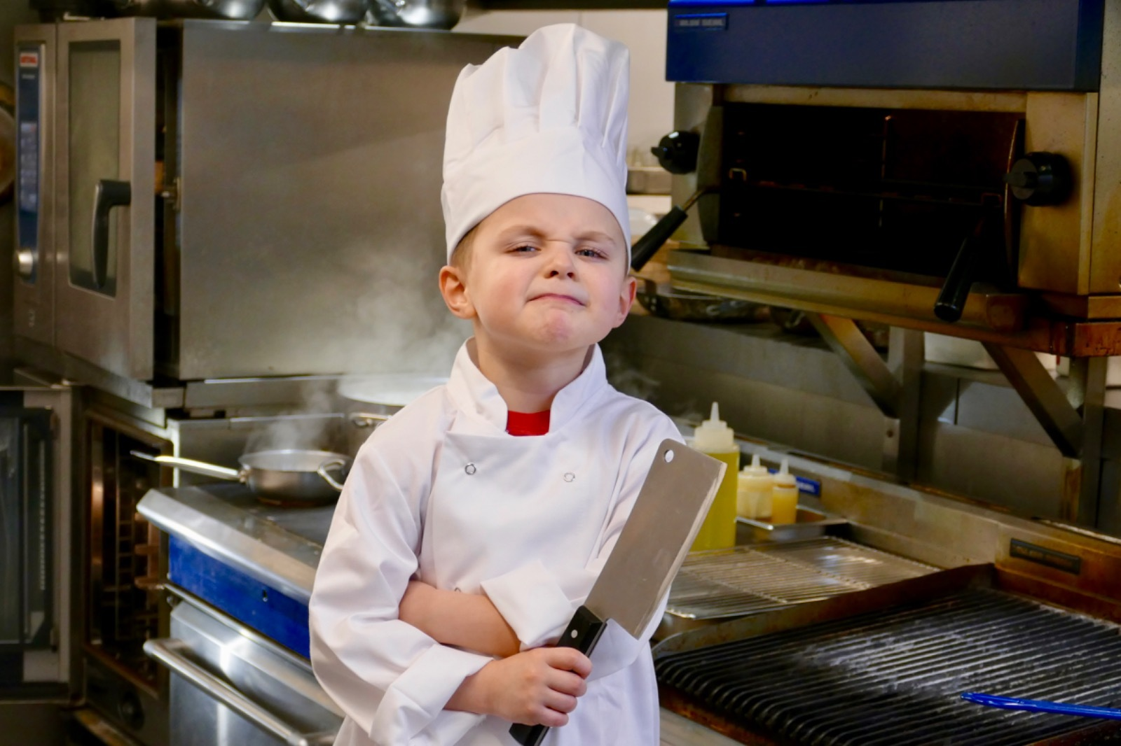 Five-year-old puts top chefs through their paces developing kid's menu at Llangollen restaurant