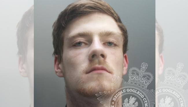 Jordan David Rippon, who was sentenced for breaching a restraining order.