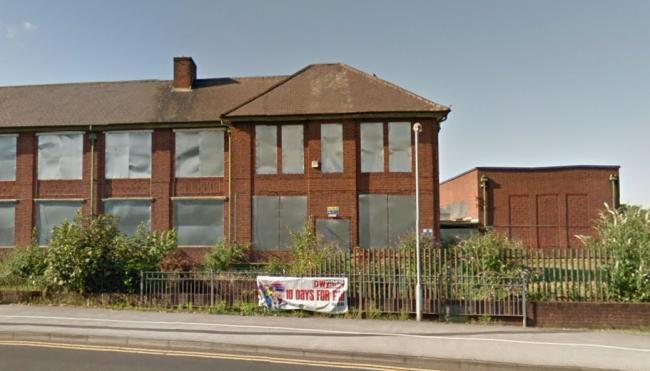 The Groves School in Wrexham has been boarded up and declared surplus to requirements by Wrexham Council.