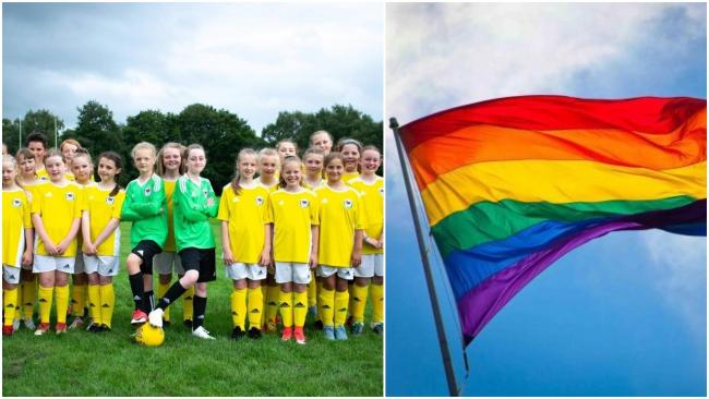 Deeside Dragons Girls FC is hosting an LGBT-themed tournament.