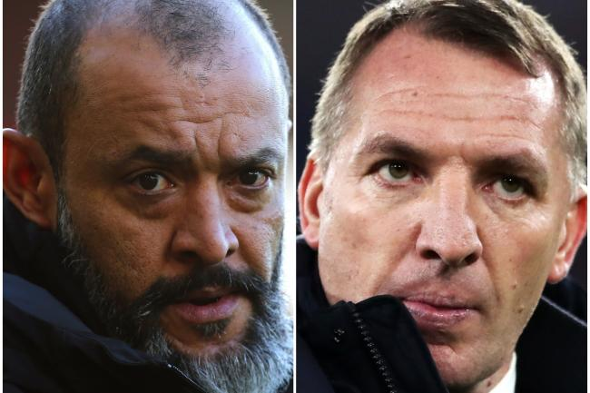 Nuno Espirito Santo and Brendan Rodgers settled for a draw at Molineux