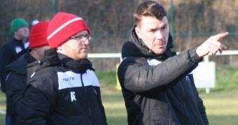 Buckley Town manager Dan Moore and assistant