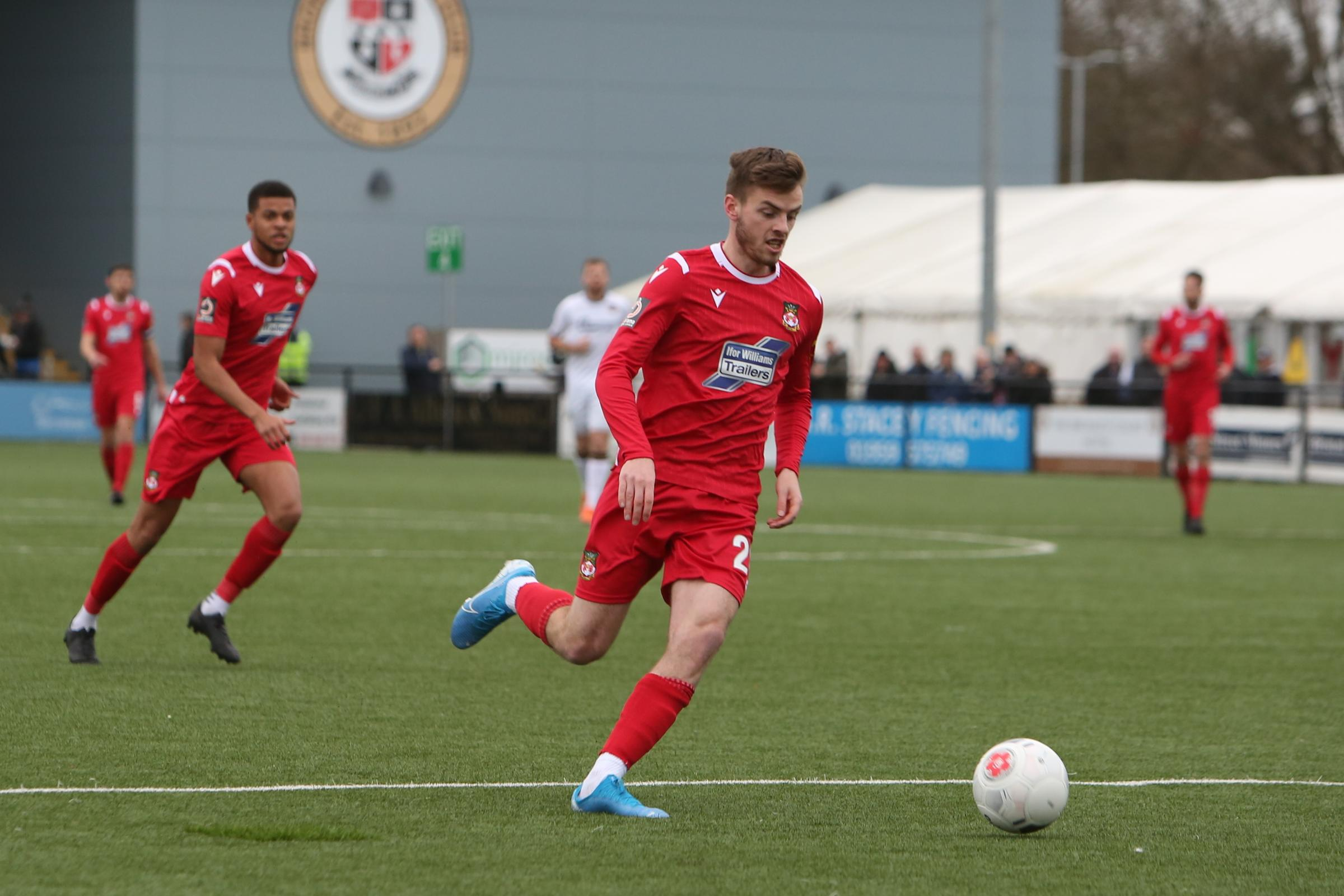 Dan Jarvis says the Wrexham AFC front three have shown they can cause opposition defences problems
