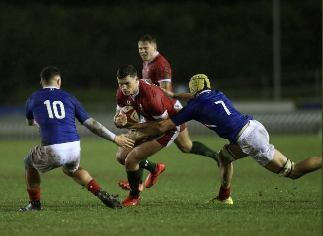 Action from Wales' win over France (Photo: WRU Twitter)
