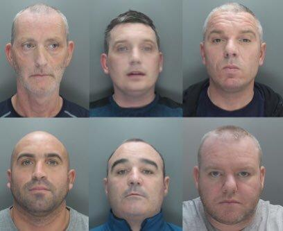 Six men sentenced to a total of 116 years for drugs conspiracy following an investigation by the NWROCU and Merseyside Police.