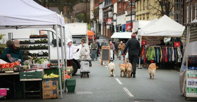 Images taken at Mold Market on March 18, 2020