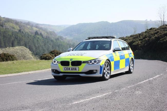 North Wales Police remind drivers to remain at home.