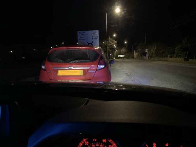Drug driver stopped in Gronant after breaking the rules of social distancing