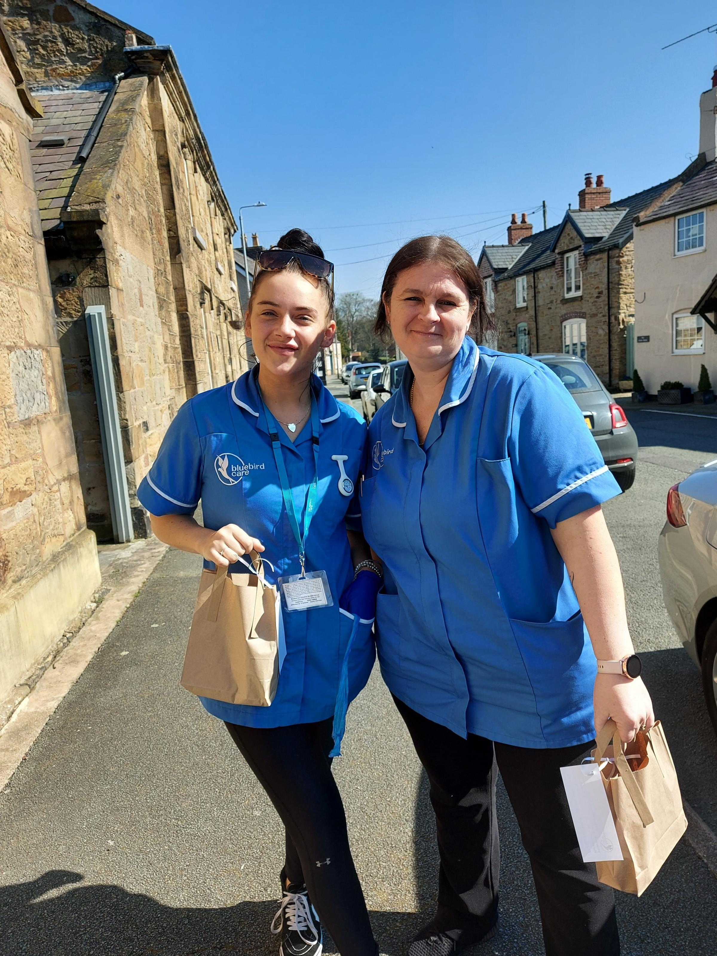 Bluebird Care Cheshire West and Flintshire treat their care assistants with pamper packages