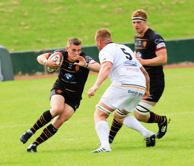 Tom Hughes in action for RGC (Photo by Tony Bale)