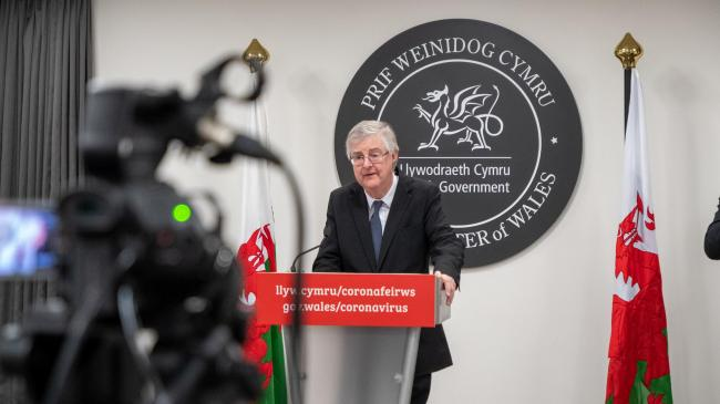 First Minisnter of Wales Mark Drakeford