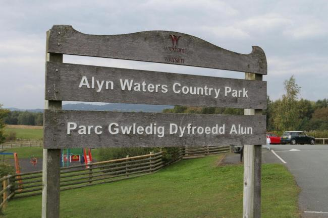 Alyn Waters Country Park in Wrexham.