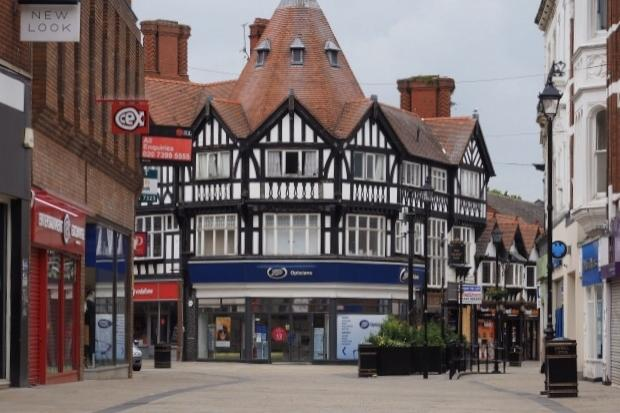 Wrexham town centre. Image: NWP