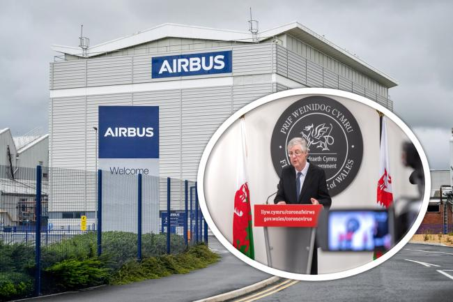 Mark Drakeford shares Welsh Government's 'disappointment' that support for aerospace industry was not mentioned in Chancellor Rishi Sunak's summer statement