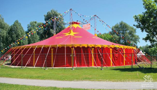 LIbrary image of a circus tent