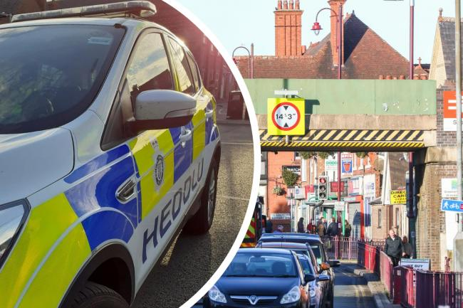 'It might be a nice evening for a walk but not on a railway line' - arrest made at Shotton