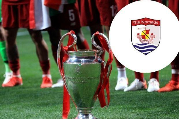Connah's Quay Nomads will face FK Sarajevo in the First Qualifying Round of the UEFA Champions League.