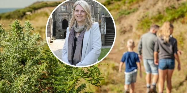 Hannah Blythyn has announced the new funding for outdoor spaces