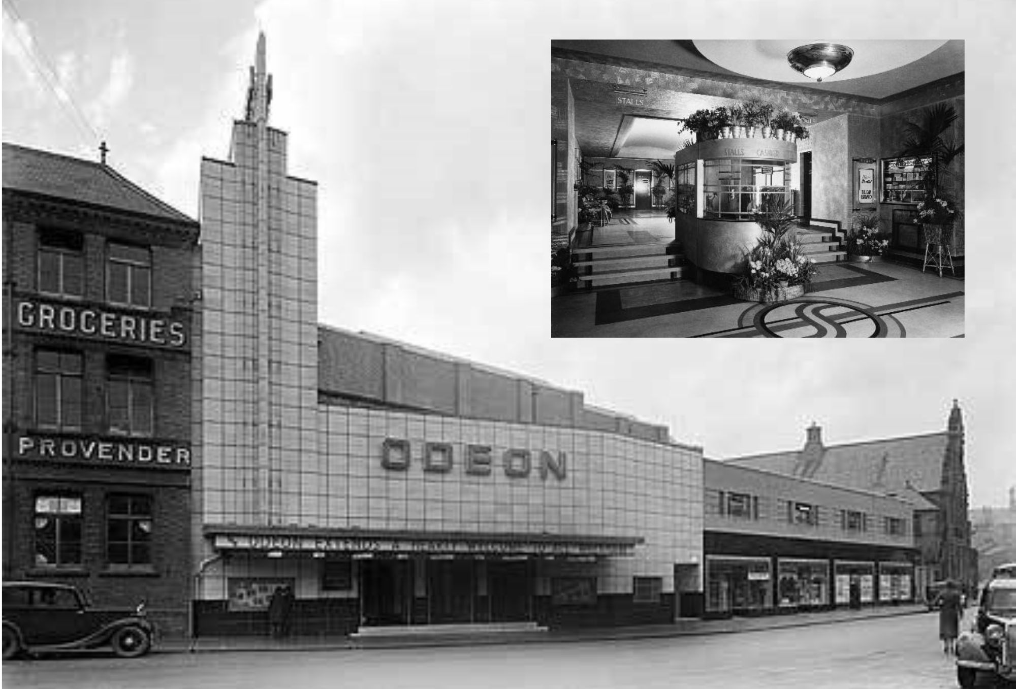 Art Deco Style Of Wrexham S Odeon Cinema The Leader