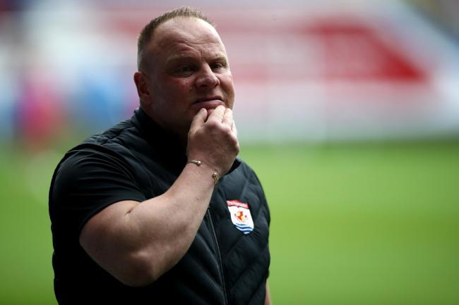Connah's Quay Nomads manager Andy Morrison.