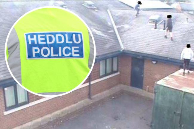 This is how police plan to stop  youths climbing on Llay primary school's roof