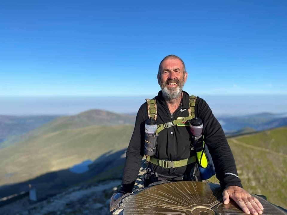 Meet the Wrexham man who took on 640-mile Three Peaks walk in aid of hospice