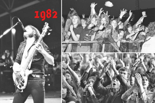 Do you remember Motorhead at the Racecourse in 1982?