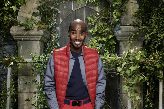 Sir Mo Farah in I'm A Celebrity... Get Me Out Of Here!