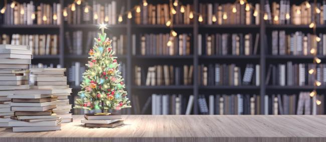 There's all manner of festive inspiration at the library, from cooking and gifts, to craft and cleaning