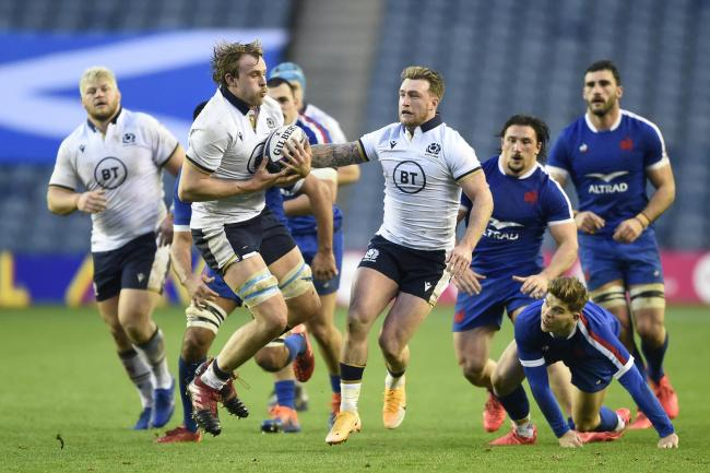 Scotland v France – Autumn Nations Cup – BT Murrayfield Stadium