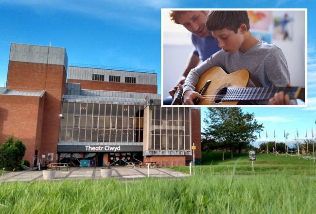 Theatr Clwyd securing music service will benefit wellbeing of children across Flintshire