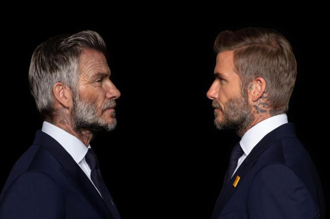 Digitally aged David Beckham appears in malaria campaign video