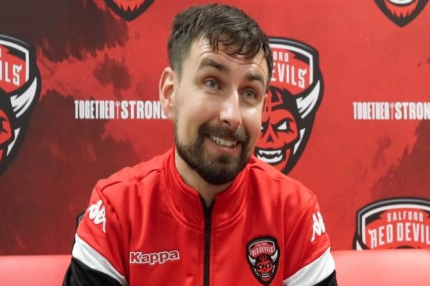 Gareth Whittaker is the new strength and conditioning coach at Salford City Red Devils.