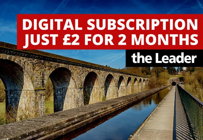 Don't miss out on Leader's £2 for 2 months digital subscription offer