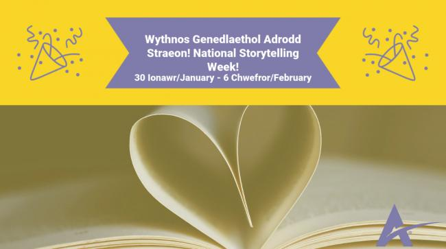 Aura Libraries Flintshire: happy National Storytelling Week
