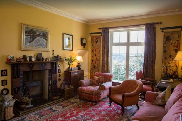 The Leader: The Brow is a beautiful Georgian house in Overton-on-Dee. Image: Vrbo