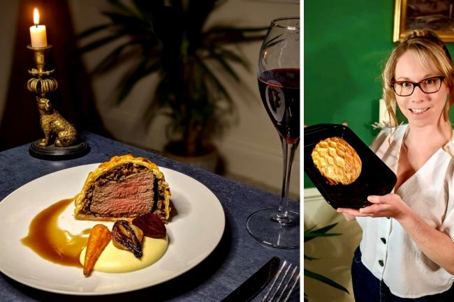 Charlotte Seddon's recipe for Beef Wellington is a perfect option for a romantic Valentine's Day meal