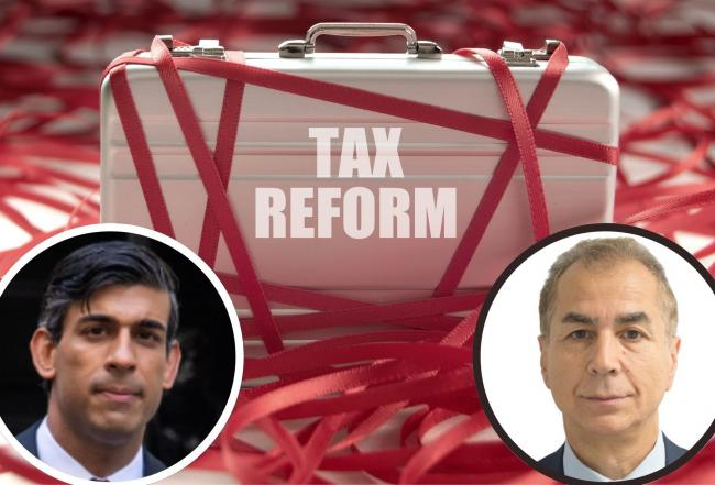 Askar Sheibani says Chancellor Rishi Sunak can make history in the Budget with radical tax regime for the UK