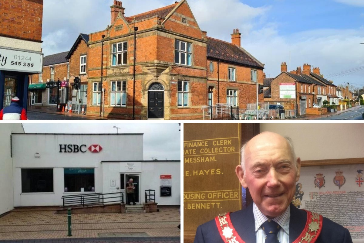 Mayor's views on plans to transform two former banks in Buckley