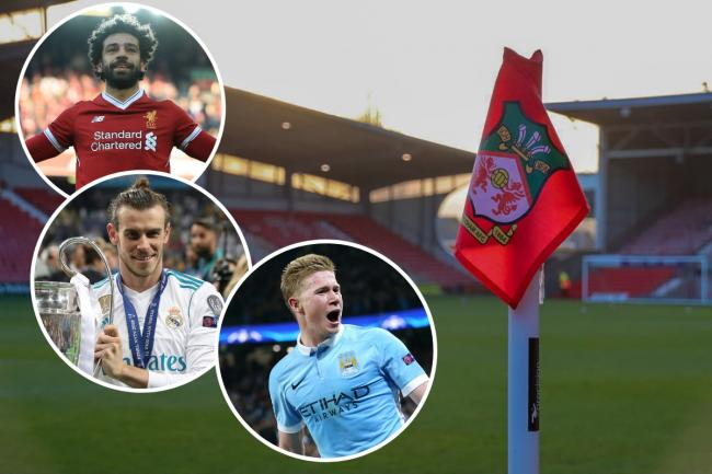 Wrexham AFC will NOT join the likes of Liverpool, Real Madrid and Man City in the European Super League of football. Image: Wrexham AFC (Inset images PA Wire)