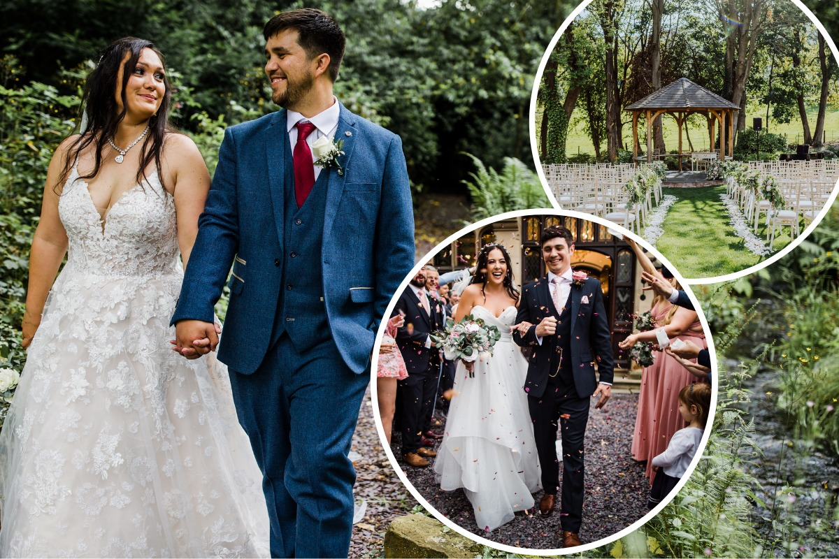 2,500 glasses chinked at this North Wales wedding venue as celebrations resume