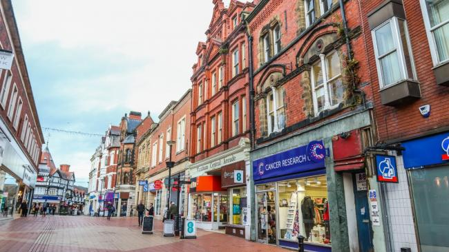 Business leader's app-y to help shoppers get most out of Wrexham town centre
