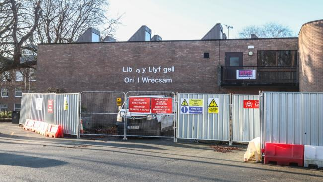 Asbestos removal at Wrexham Library 'was safe' says police chief