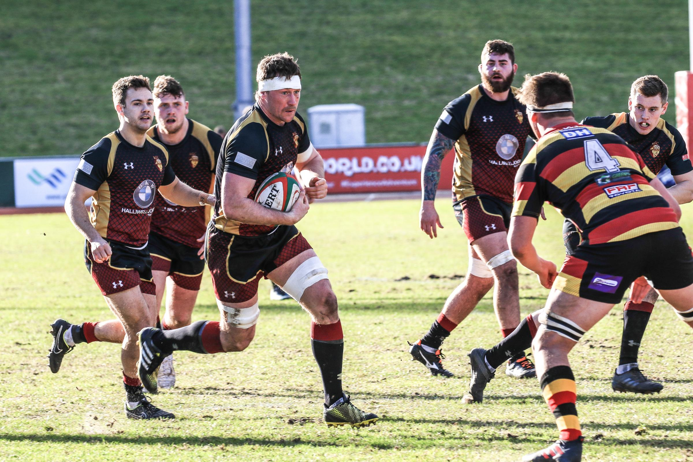 RGC travel to title rivals Cardiff on Monday