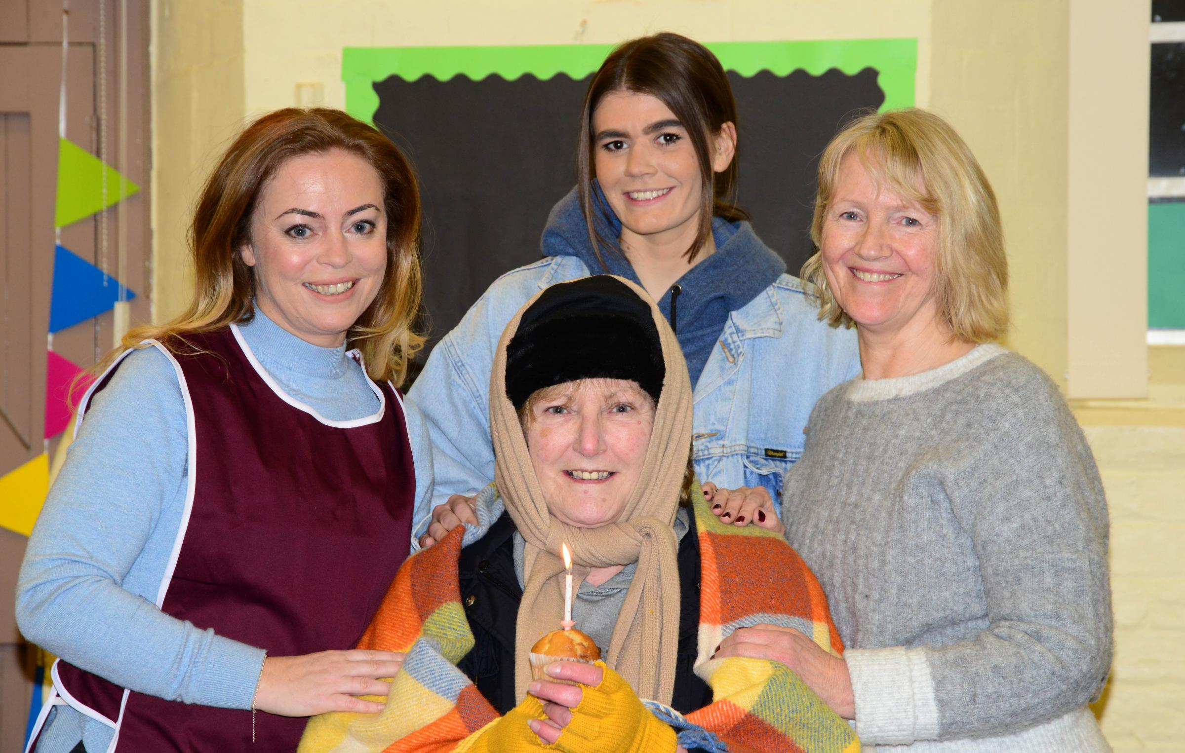 Cast members from Grove Park Theatre Wrexham, who will be taking part in the Clwyd Community Theatre Association Festival of One Act Plays, held at Theatr Clwyd on March 9-10.
