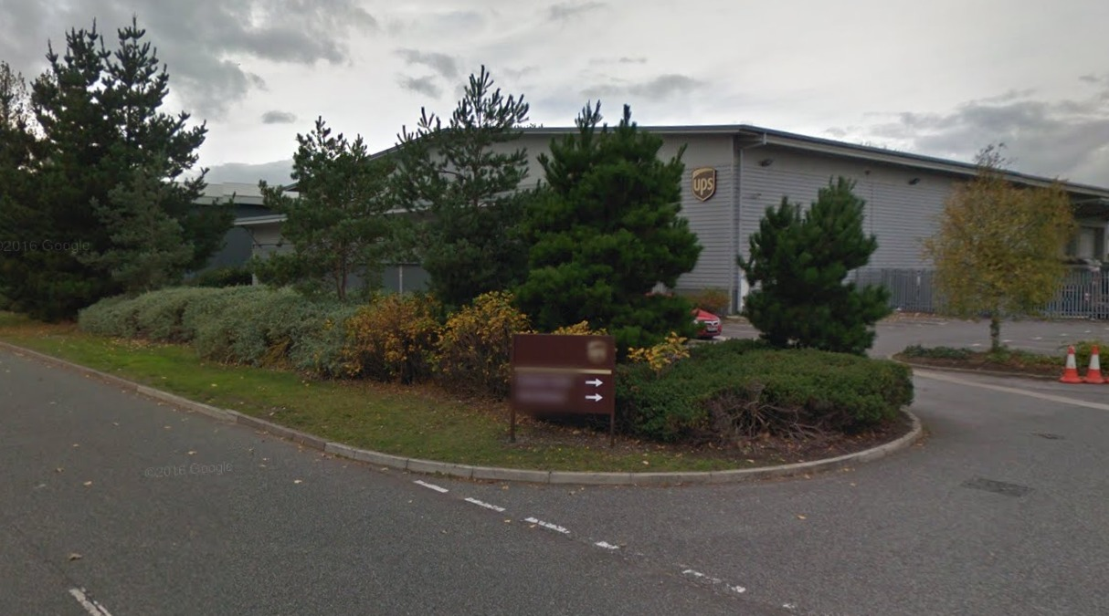 UPS depot on Deeside Industrial Park. Picture: Google Streetview