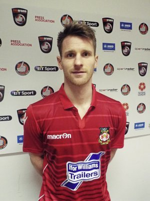 RARING TO GO - Wrexham striker Jonathan Franks is looking forward to the derby